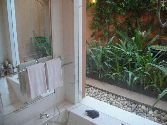 The Oberoi Rajvilas : Batroom's patio