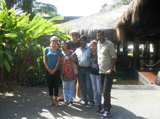 Amanda Resort : Hanging with the family