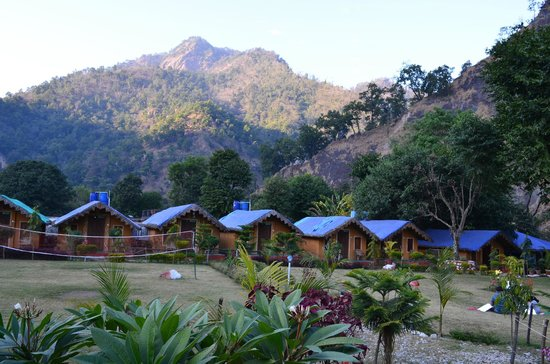 Him River Resort: The camp site