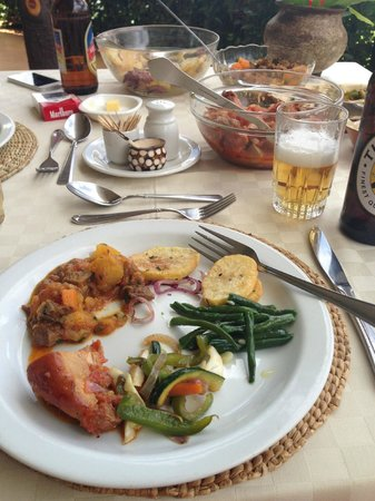 Country Lodge : main meal