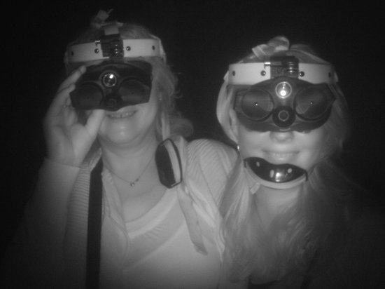 Vision Walks - Eco Tours: ready for the night vision walk