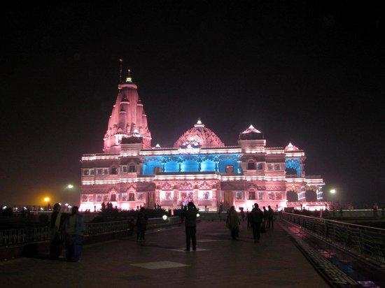 Prem Mandir Vrindavan Picture Of Prem Mandir Shyama Shyam Dham