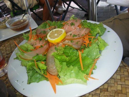 Ric& Cath'snack : salade de marlin fumé