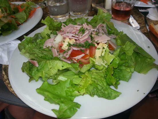 Ric& Cath'snack : salade de jambon fromage