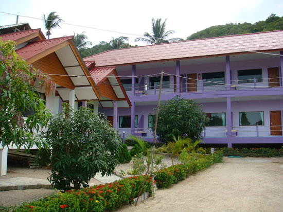 The Scenery Beach Resort: exterior superior hotel & deluxe bungalow