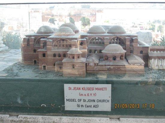 Selcuk Efes Kent Bellegi-History Museum: cathedrall