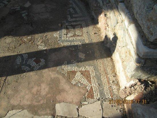 Selcuk Efes Kent Bellegi-History Museum: mosaik