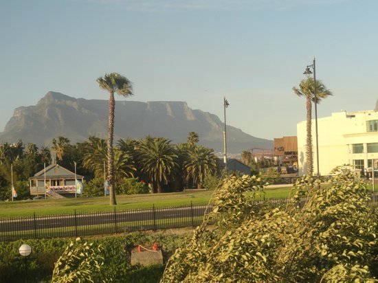 StayEasy Century City : That's Table Mountain in the distant background