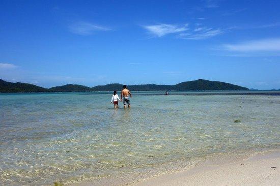 Tours Koh Taen - Private Day Tours: Koh Mudsum shallow bay