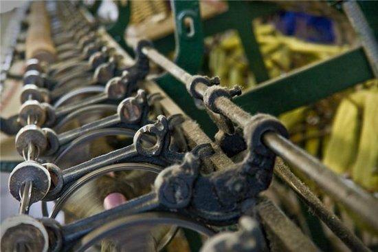 Whitchurch Silk Mill: Spinning yarns.