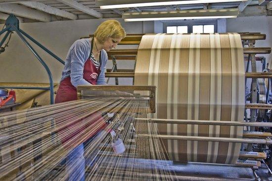 Whitchurch Silk Mill: Warping