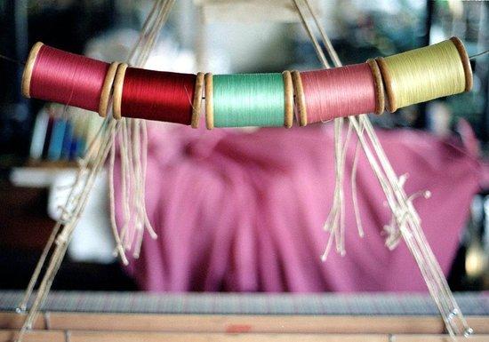 Whitchurch Silk Mill: Bobbins