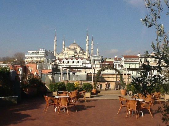 Armada Istanbul Old City Hotel: Från takterrassen