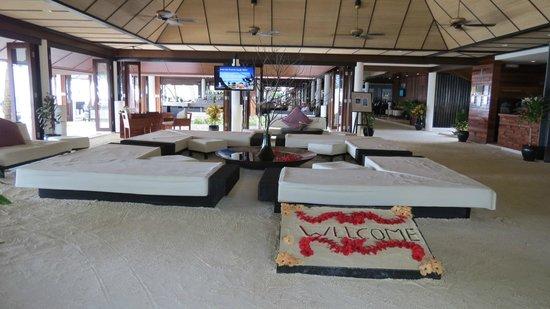 Lily Beach Resort & Spa: Réception