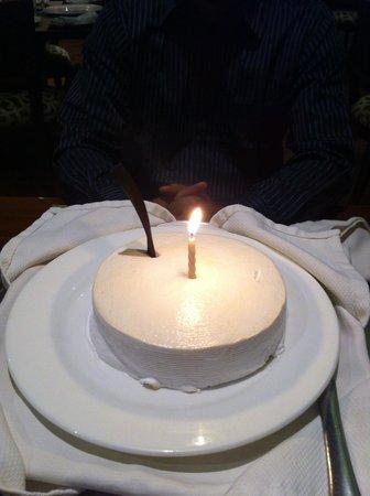 Oh Calcutta! : Anniversary surprise cake