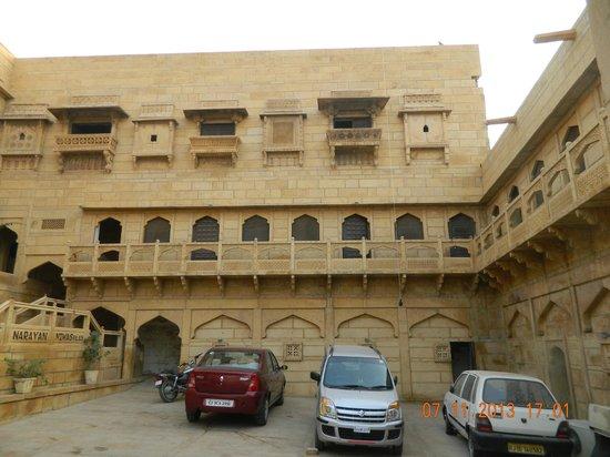 Narayan Niwas Palace: exterior