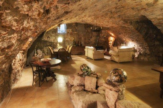 Chambres d'hotes Jeviemavie: Salon
