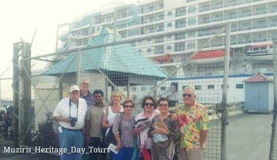 Muziris Heritage - Day Tours: Our Regent seven seas  tour