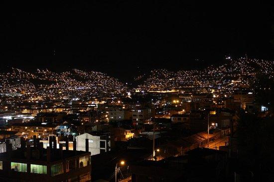 Hospedaje Turismo Caith : Vista della città dalla camera