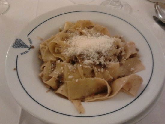 Post Gries: pappardelle alla lepre