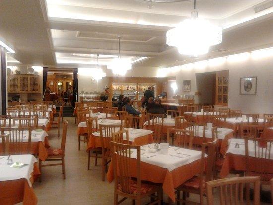Post Gries: sala ristorante