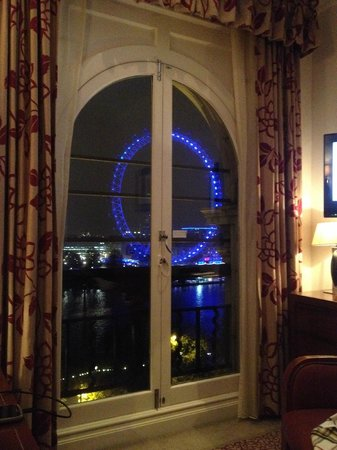 The Royal Horseguards: view on London Eye