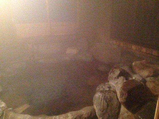 Hotaru: ほたるさんの貸し切り風呂です。温泉好きな方には是非行って欲しい湯布院一の素晴らしいお湯です。