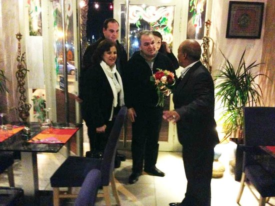 Il Gzira, มอลตา: Hon. Anglu Farrugia, Speaker of Parliament of Malta is welcomed in Incredible Asia Restaurant