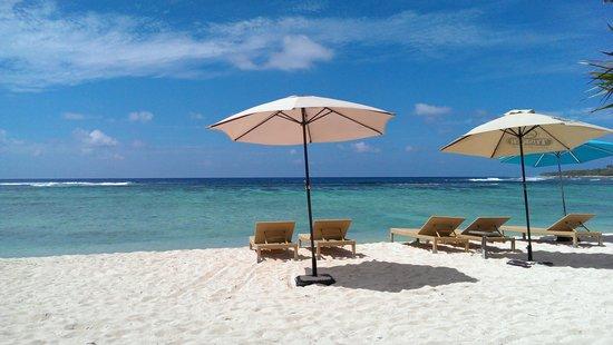 """Breakas Beach Resort Vanuatu : View from """"honeymoon"""" cabana"""