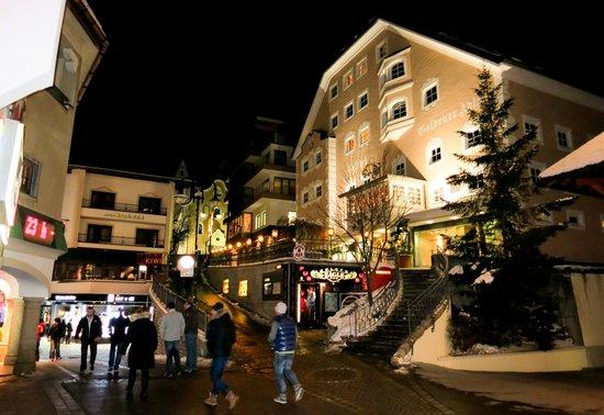 Hotel Goldener Adler: Hotel view