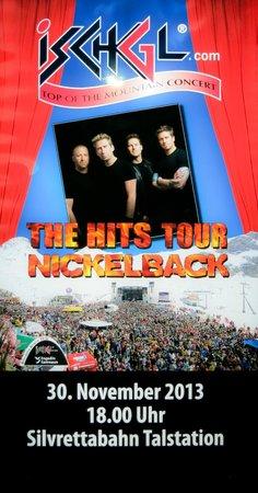 Hotel Goldener Adler: Nickelback concert