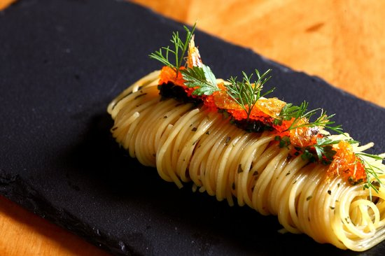 Aston Dining Room And Bar: Capellini, Shellfish Oil, Sakura Ebi, Tobiko Part 16