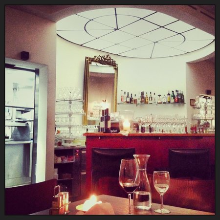 Lorenzini: Blick auf die Bar