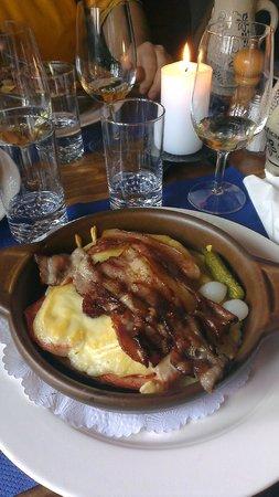 Restaurant Zum See : Käseschnitte