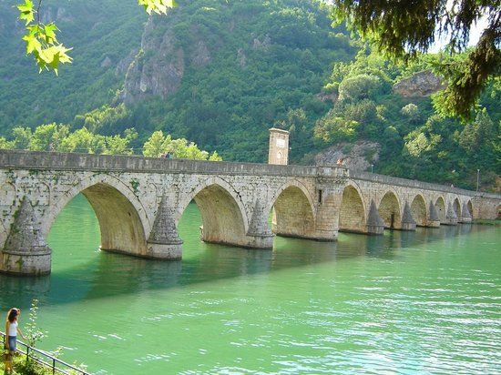 Republika Srpska, البوسنة والهرسك: Višegrad's bridge