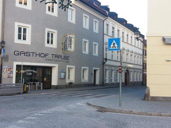 Gasthof Traube: facciata