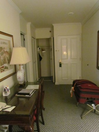 The Adolphus : Entrance To Room & Reading Desk