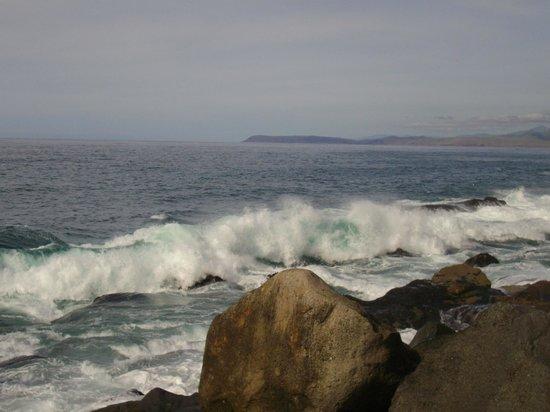 Волны Тихого океана у Morro Rock