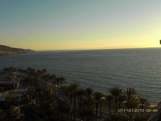Playadulce Hotel: Vista al fondo Cabo Gata