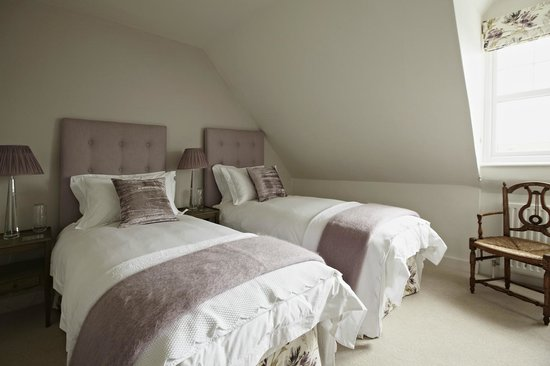 Lynmouth House: Room made up as Twin Beds
