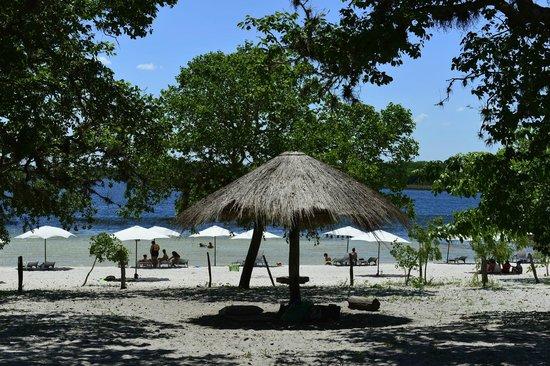 Rancho Laguna Blanca: Área de camping
