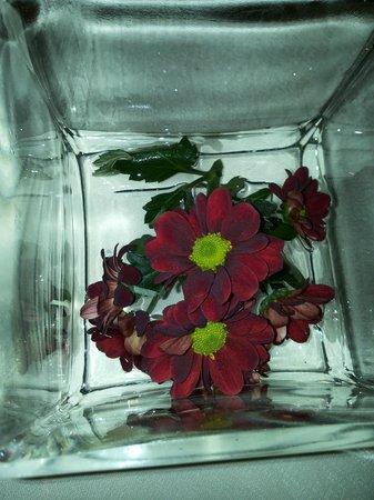 Ristorante Rezia : Dettaglio fiori freschi