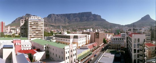 Urban Chic Boutique Hotel: Table Mountain view
