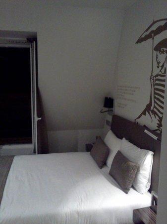Eurostars Panorama Hotel: cama individual :)