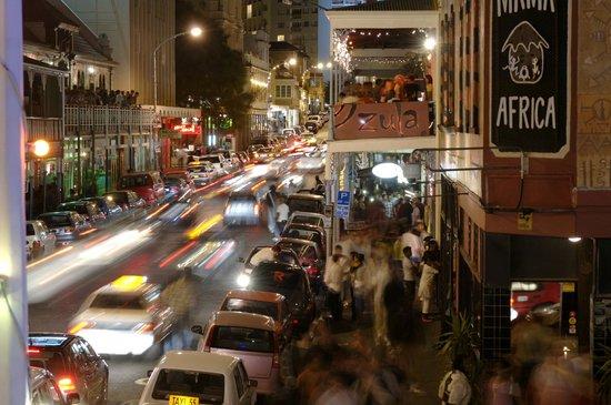 Urban Chic Boutique Hotel: Long Street's Nightlife