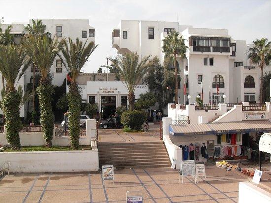 Caribbean Village Agador: View of front of resort hotel