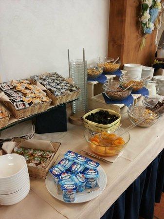 Rezia Hotel: Una colazione abbondante