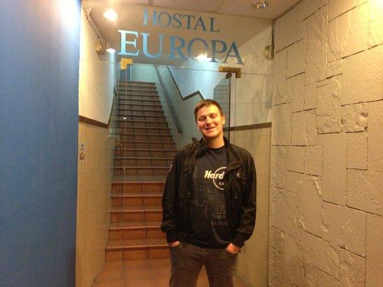 Hostal Europa: esterno