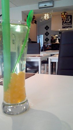 Bento Restaurant : Apple boba au bento