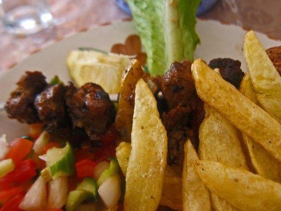 Restaurant de la République : Brochette de dromadair